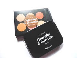 color concealer kanwal ikram u0027s blog bh cosmetics 6 color concealer u0026 corrector