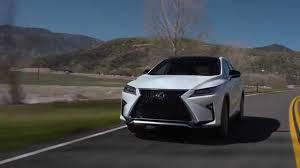 lexus usa rx 2016 lexus rx 350 f sport preview automototv youtube