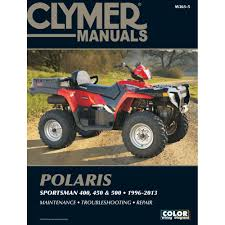 clymer polaris 400 450 u0026 500 sportsman 1996 2013 products