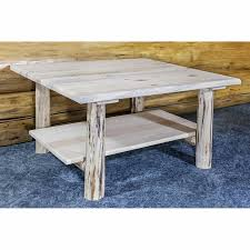 shop montana woodworks pine coffee table at lowes com