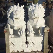 fu dog statues marble foo dog statue marble foo dog statue