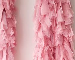 tulle backdrop tulle garland etsy