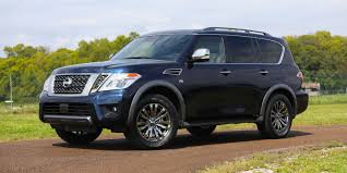 nissan armada platinum reserve suv luxury model hits state fair