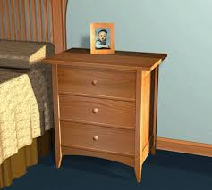 furniture plans blog archive shaker style night stand plans