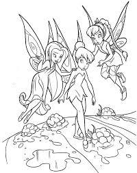 silvermist fawn tinkerbell coloring netart