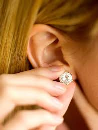 best earrings to sleep in sleeping with a new ear piercing dealing with the