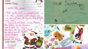 santa claus letters letters to santa published for christmas by royal mail from