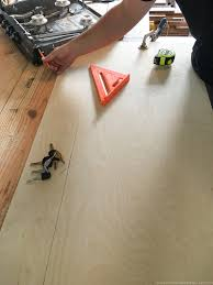 Installing Laminate Flooring In Rv How To Create Wood Counters From Flooring In A Rv