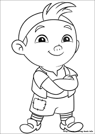 jake land pirates coloring picture kids