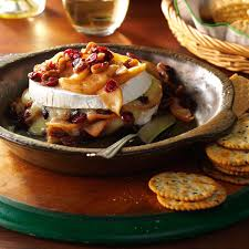 apple pecan baked brie recipe taste of home