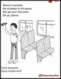 Queensland Rail Meme - train etiquette meme by mraph memedroid
