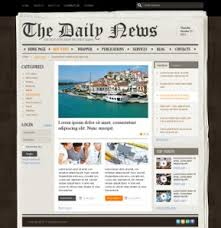 newspaper theme html5 newspaper templates bootstrap website templates