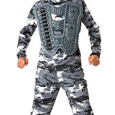 Military Halloween Costumes Kids Totally Ghoul Boys Snow Commando Halloween Costume Seasonal