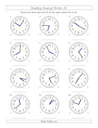 time to the half hour worksheets area of circle worksheet number
