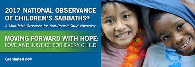 national observance of children s sabbaths