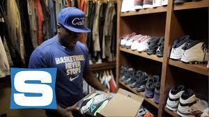 nate robinson u0027s sneaker closet part 1 youtube