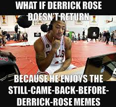 Derrick Rose Memes - derrick rose loves his memes daily snark
