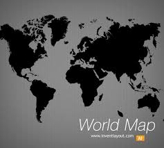 world map vector free world map vector inventlayout free psd ai