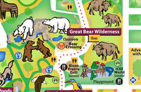 chicago zoo map chicago zoological society great wilderness