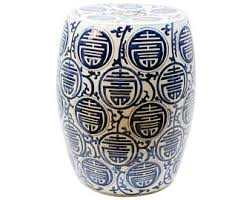ceramic garden stool etsy