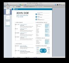 excellent ideas resume templates for pages mac neat design