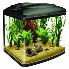 interpet fish pod glass aquarium fish tank 48 l amazon co uk