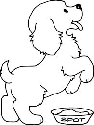 dessin pour chambre b pour chambre de bebe 9 coloriage chien heureux 224 avec dessin
