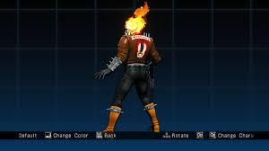 ghost rider marvel vs capcom wallpapers ghost rider the warriors skin ultimate marvel vs capcom 3 skin mods