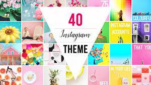 instagram design ideas 40 instagram themes instagram theme ideas with vsco settings