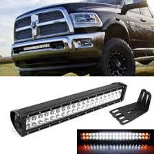 Mounting Brackets For Led Light Bar 120w White Amber Strobe Led Light Bar Dodge Ram 3500 2500
