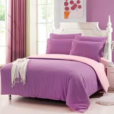 Solid Color Comforters 4pcs Stylish Sanding Bedding Set Comforter Bedclothes Suit Queen