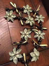 graduation leis 54 money necklace graduation 708 best images about money origami