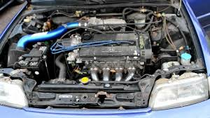 Honda Engines Specs 1989 Honda Crx Si 1 6 Engine Less Than 75k On The Engine And