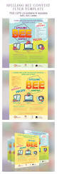 spelling bee contest graphicriver bee contest event flyer