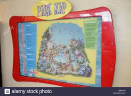 Map Of Wet N Wild Orlando by Orlando Florida Wet U0027n Wild Water Park Map Directory Stock Photo