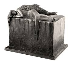 urn ashes beastone angel at rest weatherproof outdoor cremation urn for