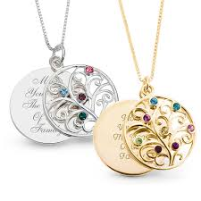 personalized birthstone necklace peachy design ideas necklaces with birthstones personalized