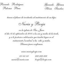 Invitaciones De Boda E Ideas Invitaciones De Boda En Espanol Texto Google Search Wedding