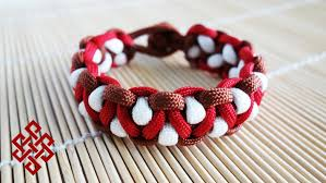 make paracord bracelet youtube images How to make the solomon 39 s dragon paracord bracelet tutorial jpg