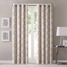 madison park westmont geometric pattern curtain panel single