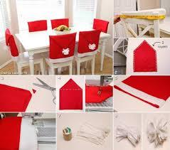 Cover Chairs Christmas Santa Hat Chair Cover Diy Tutorial Beesdiy Com