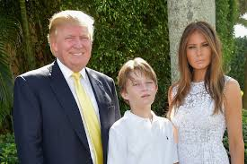 donald trump u0027s son does in fact have a live in nanny page six