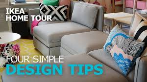 home design tips and tricks design tips four simple decorating ideas ikea home tour
