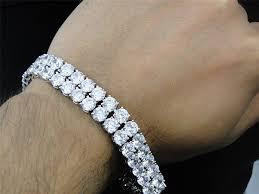 bracelet diamond men images Men 39 s gold diamond bracelets things to consider when buying jpg