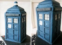 tardis cake topper 38 nerdy wedding cakes you ll delishably