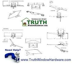 Awnings Fort Lauderdale Andersen Casement Windows Parts Casement Windows Parts Milgard