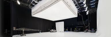 video film or photo studios with full stage production