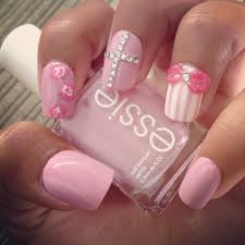 pictures of nails with bows images