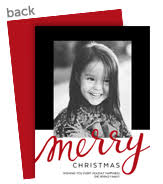 personalized christmas cards personalized christmas cards cardstore