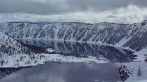 Crater Lake Oregon Map by 03 13 2010 Crater Lake Snowmobiling Youtube